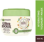 Garnier Ultra Doux Hydrating Mask With Almond Milk & Agave Nectar, 300 ml