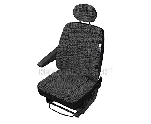 Preisvergleich Produktbild ZentimeX Z938639 Sitzbezüge Fahrersitz / Einzelsitz Armlehne rechts Stoff Airbag-Kompatibel TÜV-geprüft