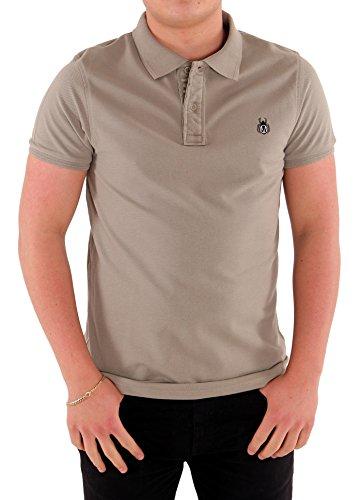 Maratus Herren Piqué-Poloshirt Aus Bio-Baumwolle Khaki