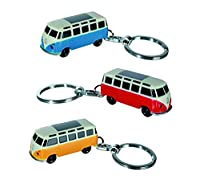Blue VW Bus Keyring - Women Womans Lady Ladies Her - Extremely Popular Romantic Love Valentines Gifts Idea