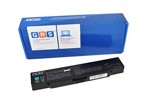 GRS Batterie d'Ordinateur Portable pour Sony Vaio avec Batteries VGP-BPS2 C, VGP-BPS2 A, VGP-BPS2, VGP-BPL2 Batterie Ordinateur Portable 4400 mAh, 11,1 V