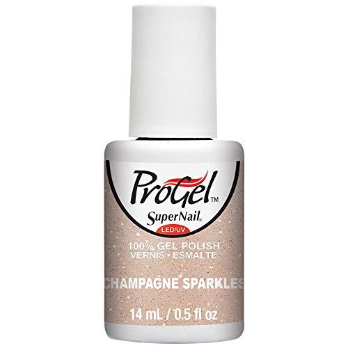 SuperNail ProGel Nagellack - Sugar Kiss Spring 2016 Collection - Champagne Sparkles - 14ml