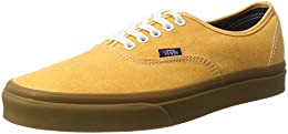 vans authentic amarillas