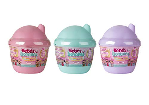 IMC Toys - Mini Bebés llorones lágrimas mágicas Pack de 3