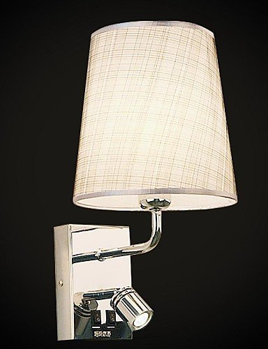 Lampada da parete, 1 luce, Beadalon Artistic Wire-Filo placcato in acciaio INOX, MS-86211-8