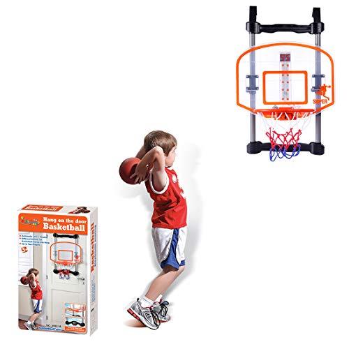 Höhenverstellbar-shop (Basketballkorb Kinder, Anna Shop Basketballkorb fürs Zimmer Höhenverstellbar mit Score-Indikator Outdoor und Indoor)