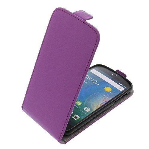 foto-kontor Tasche für Acer Liquid Z330 Liquid M330 Smartphone Flipstyle Schutz Hülle lila