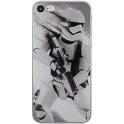 iPhone 5/5s Star Wars Coque Silicone/Couverture de Gel pour Apple iPhone 5s 5 Se/Protecteur D'écran et Chiffon/iCHOOSE/Stormtrooper Splatter