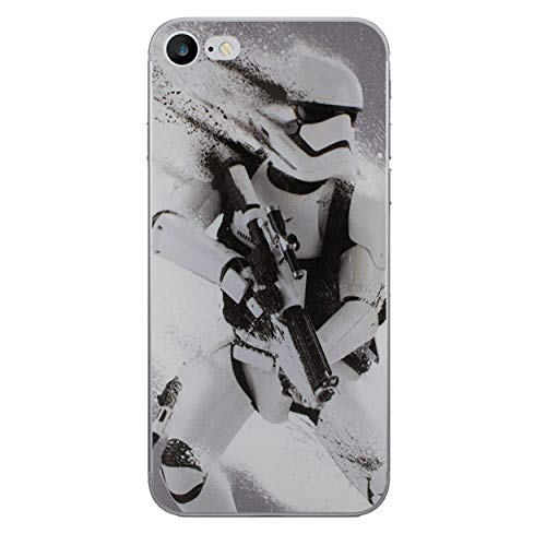 iPhone 6 Plus/6s Plus Star Wars Silicone Hülle / Gel Abdeckung für Apple iPhone 6S Plus 6 Plus / Bildschirmschutzfolie & Tuch / iCHOOSE / Stormtrooper Splatter