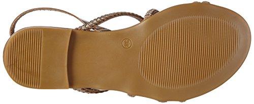 Inuovo 6203 Damen Slingback Sandalen Gold (Gold)