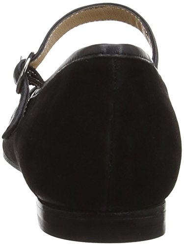 Vanilla Moon Gaby, Ballerines femme Noir (Black Patent)