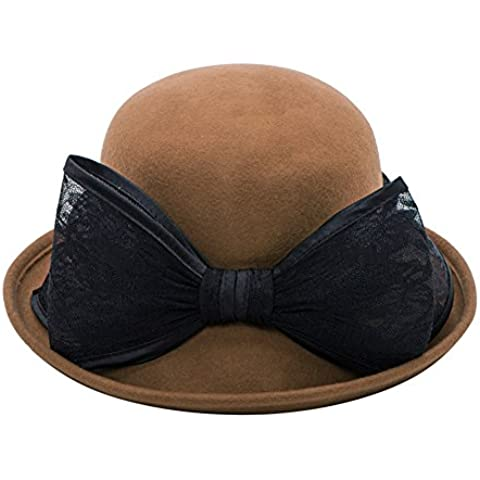 Cappelli donna/Cappelli di Inghilterra/ autunno coreano e modisteria inverno/ Bow