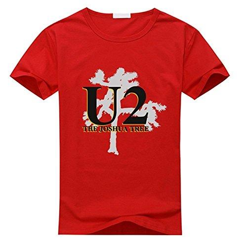 Custom U2 The Joshua Tree Men's and Women's T-Shirt
