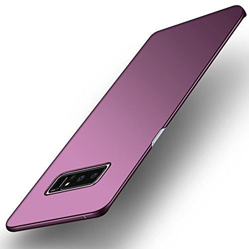 Croazhi Galaxy Note 8 Fall, Extra dünne Hard Case PC Anti-Fingerprint Matte Cover für Samsung Galaxy Note 8 (Burgund, Galaxy Note 8)