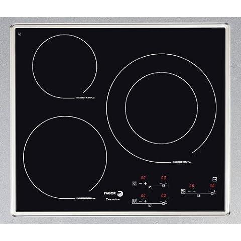 Fagor IF-3BX hobs - Placa (Incorporado, indución eléctrica, 2200W, Electrónico, Botones, 220 -