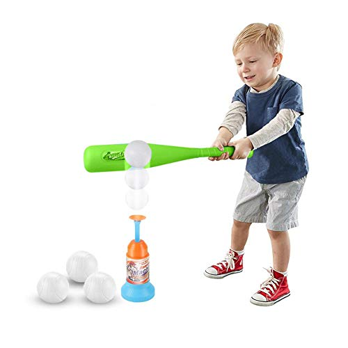 Training Automatische Launcher Baseball Set Spielzeug T Ball Kinder Indoor Outdoor Sports Baseball Spiel -
