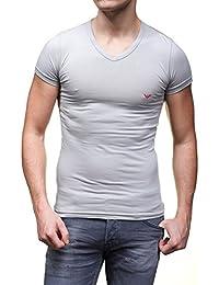 Emporio Armani Underwear - T Shirt 110810 5a717 Gris - Taille XL - Couleur Gris