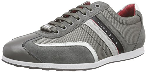 Boss Green Stiven 10167192 01, Baskets Basses homme Gris (med Grey 039)