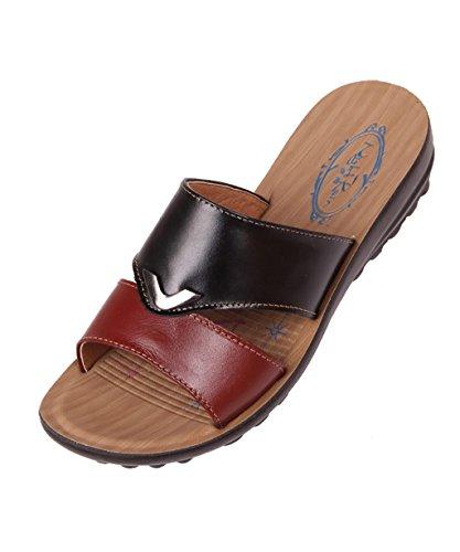 CHAOXIANG Pantofole Da Donna Antiscivolo Con tacco Ciabatte Piatte Sandali Da Surf Nuova Estate Ciabatte Spiaggia ( Colore : A , dimensioni : EU38/UK5/CN39 ) B