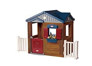 Little tikes 172854e3 maison de jardin en bois amazon - Maison de jardin little tikes colombes ...
