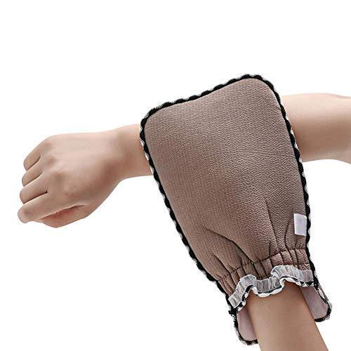 Waroomss Peeling Handschuhe, Badhandschuhe Natürliche Pflanzenfasern Peeling Und Entspannen Sie Sich Beim Aufbau Einer Gesunden Haut, Ideal Für Seifen, Körperpeelings, Duschgels Oder Meersalz -