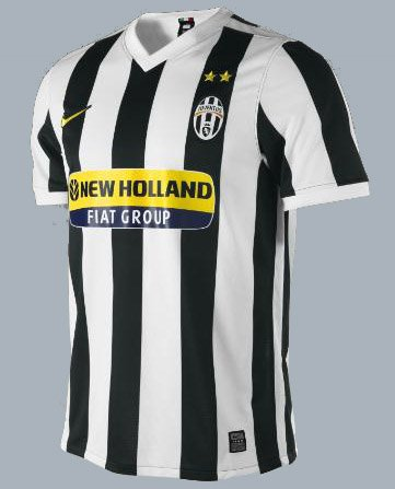 Nike maillot de football aux couleurs de la juventus de turin 2009/10 354296–010 xXL