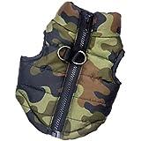 Generic Cotton-Padded Pet Dog Vest Clothes (Camouflage, Large)