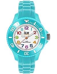 Ice-Watch - Ice Mini Turquoise - Montre Turquoise pour Garçon (Mixte) avec Bracelet en Silicone - 012732 (Extra Small)