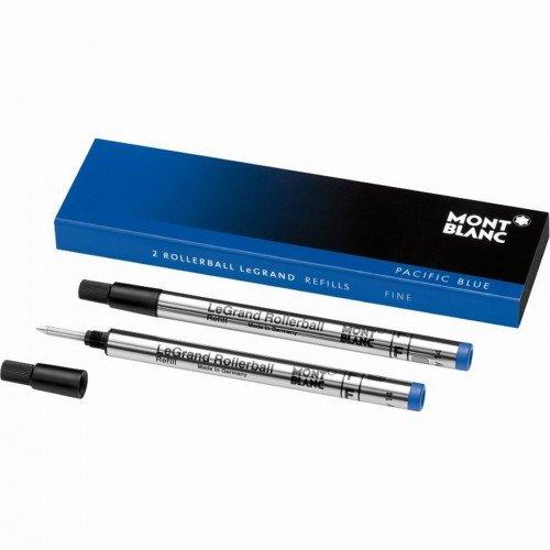 genuine-montblanc-legrand-rollerball-refill-blue-2-pack-fine-105167-authorized-mont-blanc-pen-dealer