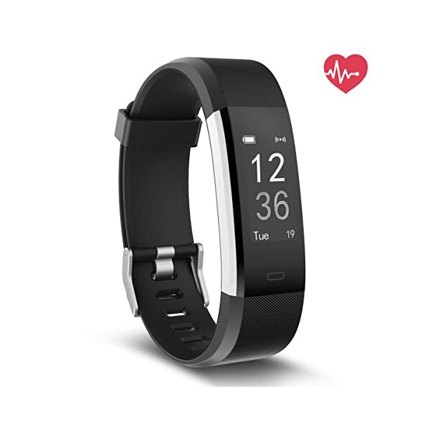 Delvfire-Pulse-HR-Fitness-Tracker-Activity-Watch-and-Heart-Rate-Monitor-Waterproof-Touch-Screen-Smart-Bracelet-for-Women-Men-Kids-with-Sleep-Monitor-Pedometer-Step-Calorie-Counter-iPhone-Android