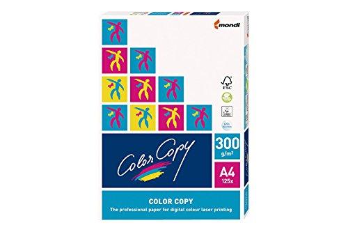 festes papier mondi Color Copy Kopierpapier/023803010051 A4 weiß geriest 300g Inhalt 125 Blatt