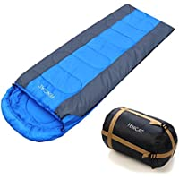 FENICAL Sleeping Bag Waterproof Envelope Sleeping Bag, 4 Season Lightweight 20-50F, Great for Outdoor Camping, Hiking and Outdoor Activities