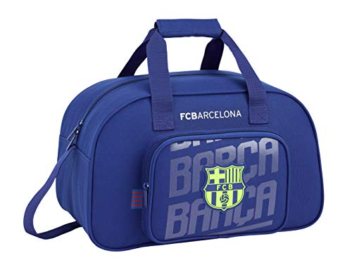 FC Barcelona 2018 Bolsa de Deporte Infantil, 40 cm, 22 litros, Azul