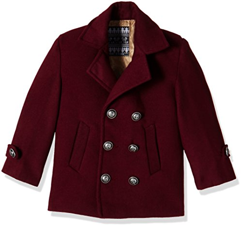 Little Kangaroos Boys' Jacket (12246_Wine_4 Years)