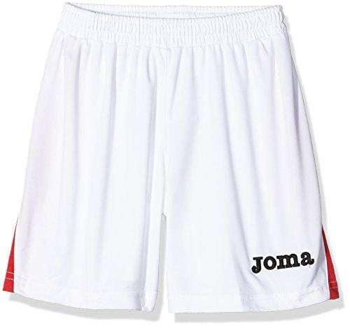 Joma Erwachsene Team Shorts, Blanco Rojo, M, 1146.007 (Streifen-bermuda-shorts)