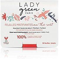 Lady Green Voile de Perfection Matifiantes Tea, verde, 50 hojas