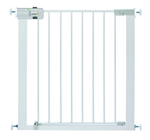 Safety 1st Easy Close - Barrera de puerta, de metal, color blanco
