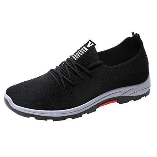 MMLC_Scarpe da Trail Running Uomo Scarpe da Ginnastica Scarpe da Atletica Leggera Uomo Trekking Running all'Aperto Fitness Respirabile Mesh