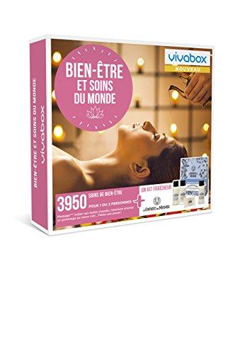 Vivabox - Coffret cadeau femme - BIEN-ETRE ET SOIN DU MONDE - 3950 soins bien-être +...