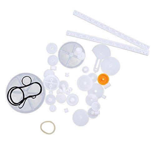 34-tyle-de-plastico-engranajes-ruedas-dentadas-bricolaje-accesorios-gusano-robot-de-juguete-de-brico