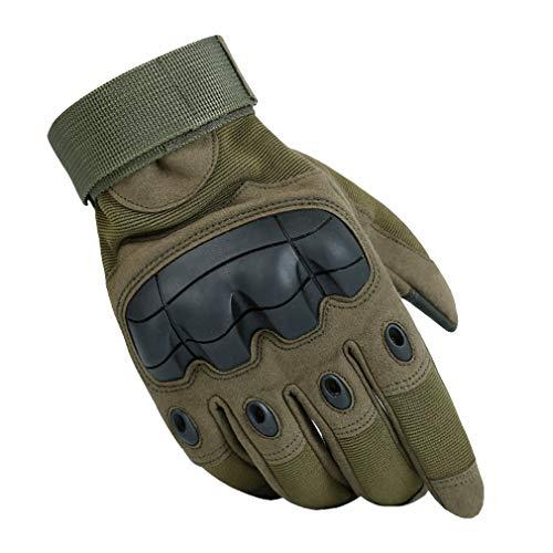 Preisvergleich Produktbild 1 Paar Herren Taktische Handschuhe / Motorrad Handschuhe, Outdoor Männer Vollfinger Handschuhe für Motorrad Fahrrad Airsoft Militär Paintball