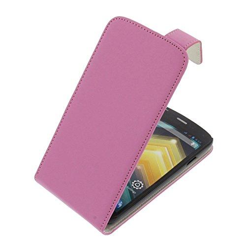 Tasche für Wiko Barry Flipstyle Schutz Hülle Handytasche pink