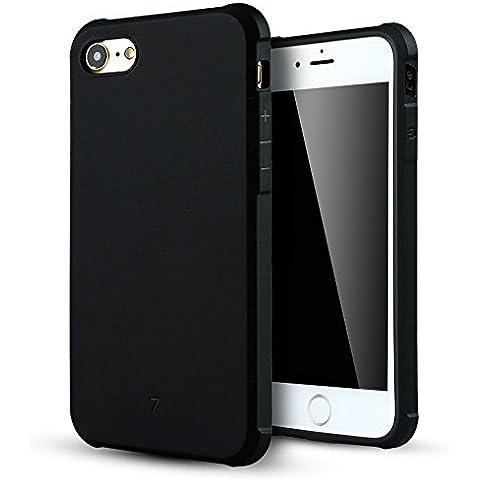 iPhone 7 Funda,Lizimandu Protectiva Carcasa de Silicona de gel TPU Transparente, Ultra delgada, Resistente a los arañazos en su parte trasera, Amortigua los golpes Case Cover Para apple