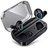 meilun True Wireless Earbuds, Bluetooth Earphones X11 Bluetooth 5.0 Headphones IPX7 Waterproof Built-in