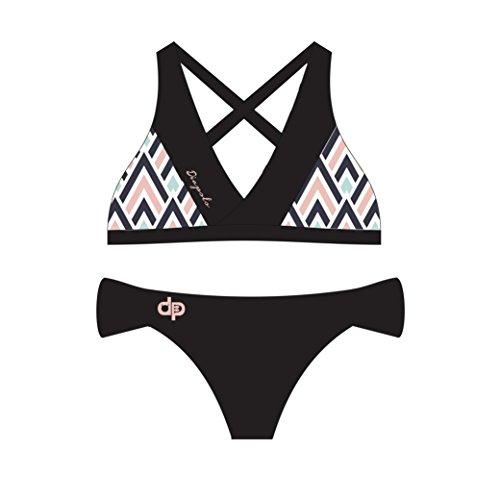 Diapolo Pine Bikini a due pezzi Summer collezione nuoto sincronizzato Nuoto pallanuoto thriathlon canterburry
