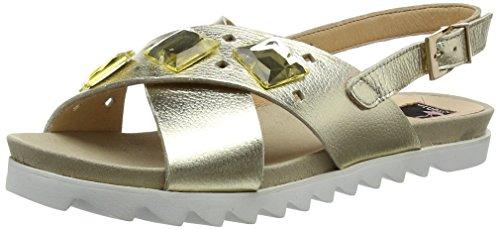 Giudecca Jycx15ab9-1, sandales ouvertes femme or (gold)