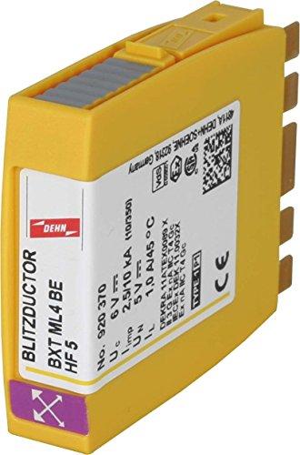Dehn+Söhne Kombi-Ableiter-Modul BXT ML4 BE HF 5 Blitzductor XT Kombi-Ableiter für Informations-/MSR-Technik 4013364109117