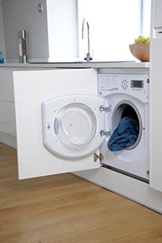 Hotpoint Ultima BHWMD 732 Integrated Washing Machine - White