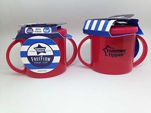 Tommee Tippee First Cup–Rot (2x 2Stück) - 2