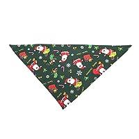 FHJZXDGHNXFGH-UK Dog Bandana Christmas Collar Scarf Bib Grooming Accessories Triangular Bandage Collars best gift for Pet